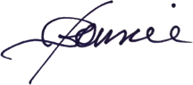 Bonnie Gillespie autographed the internet